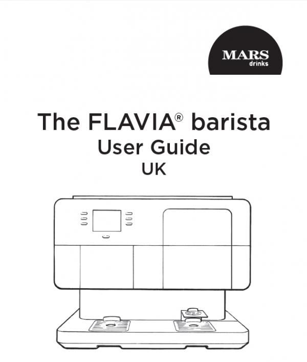 Flavia barista brochure