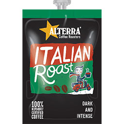 picture of alterra italian roast drinks sachet
