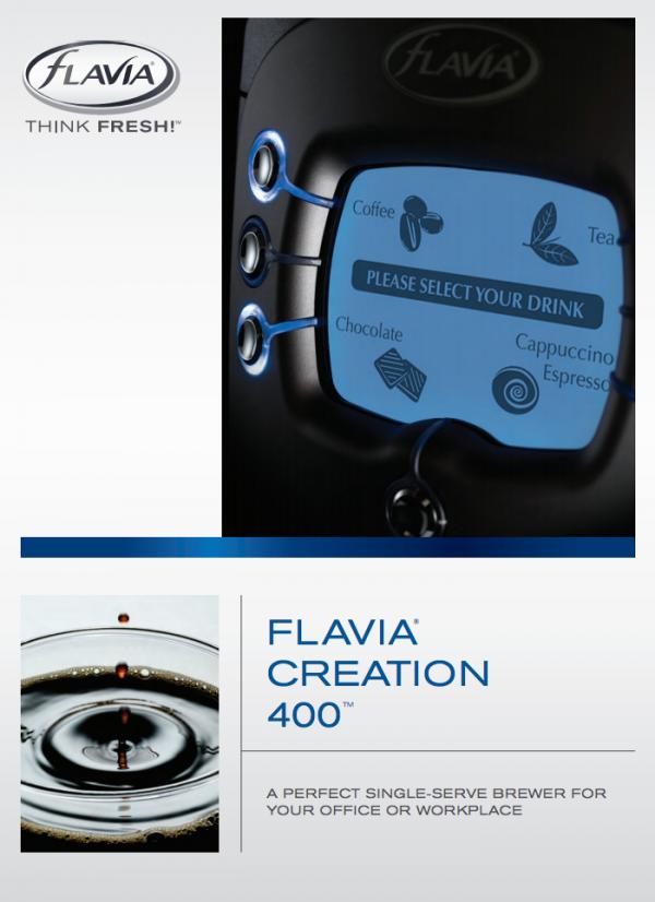 flavia 400 brochure cover