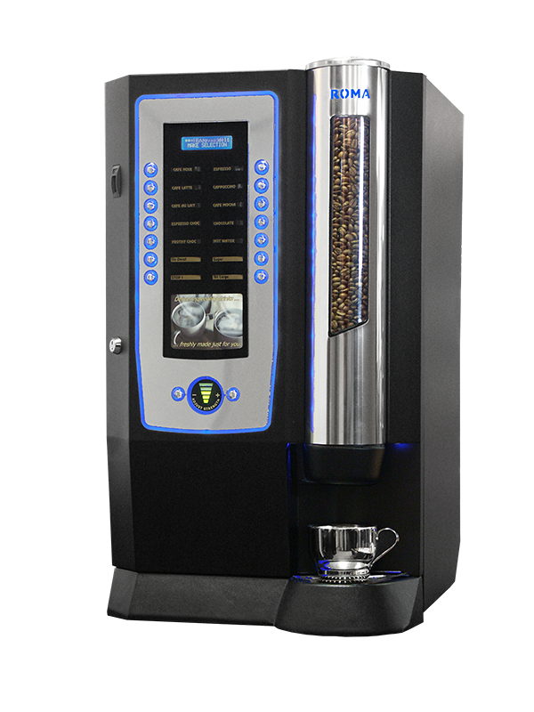 picture of roma coffee machine
