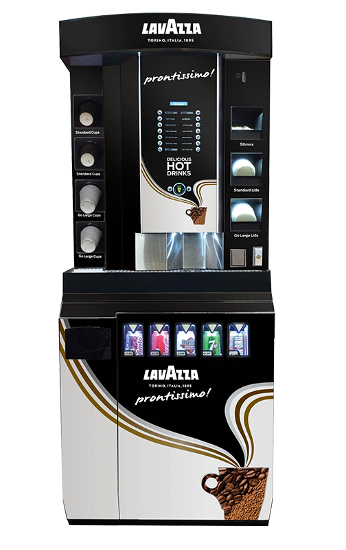 Picture of KSV coffee club can serve machine