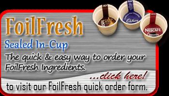 foil fresh order button