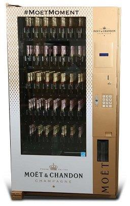 Moet Champagne Vending Machine Image