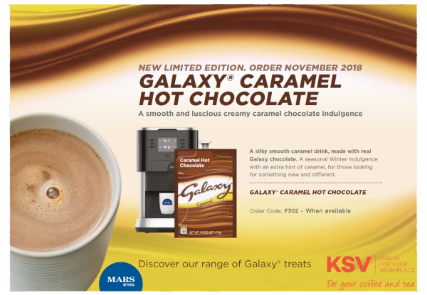 New Flavia Galaxy Caramel Image and launch details