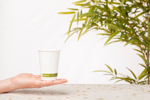 Planet Compostable Coffee Cup Image