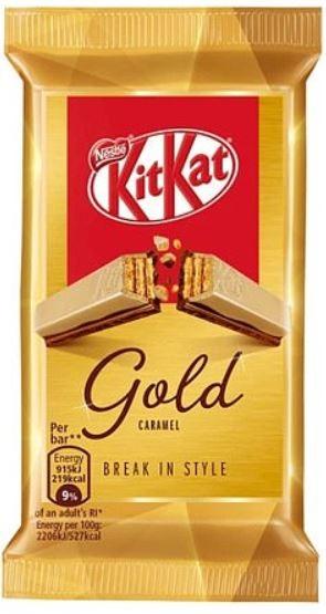 KitKat Gold Caramel Bar Image