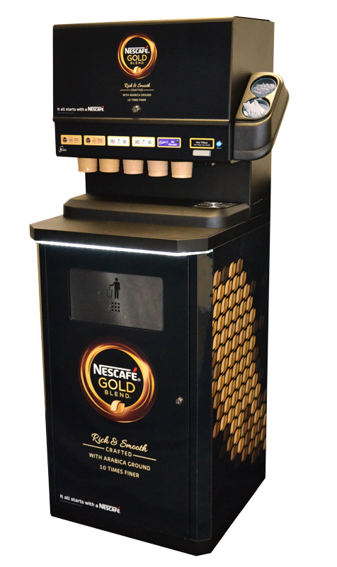 Classic In Cup Coffee Machine Cabinet