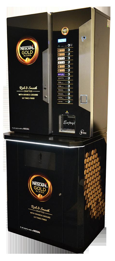 VOgue Nescafe Branded Base Cabinet