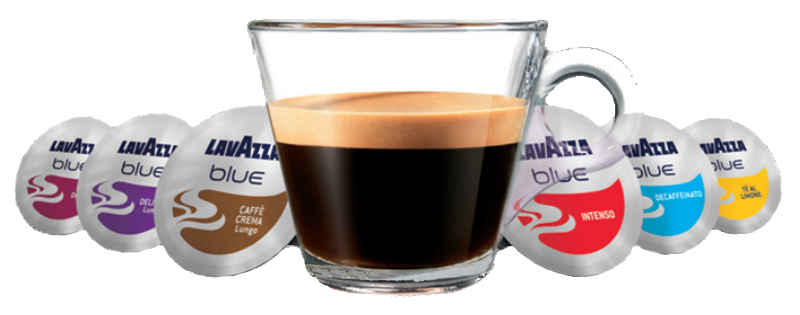 Lavazza Coffee With Pods
